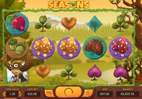 Seasons сезоны времена года игровой автомат