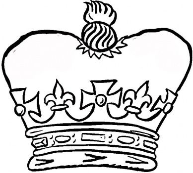 Royal Jewels Russian Crown Coloring Pages Queen Tattoo King And Queen Crowns