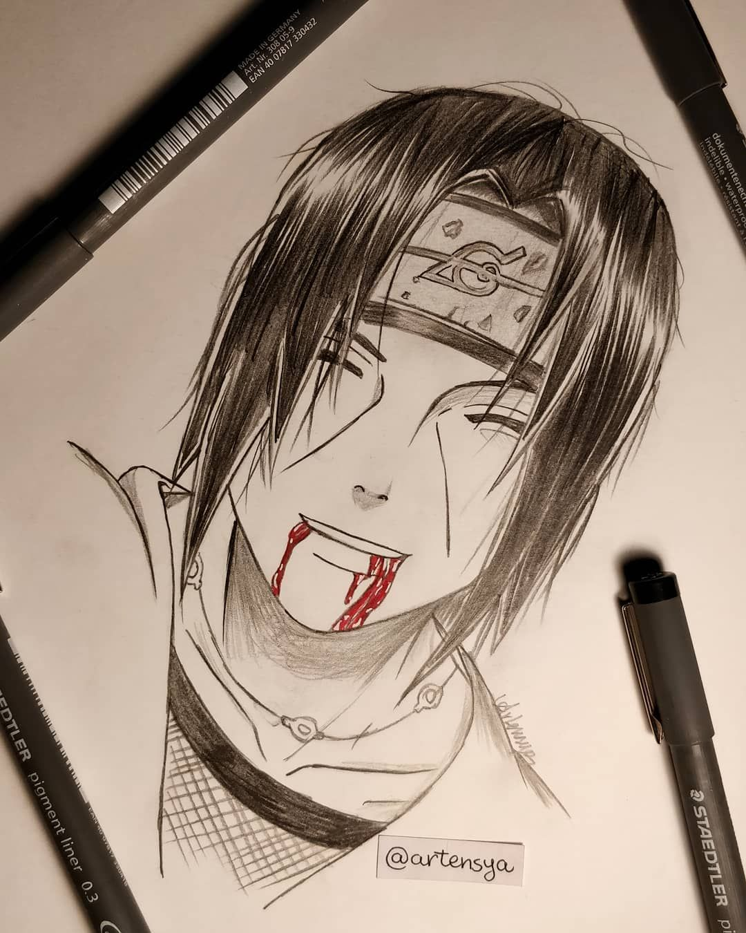 Itachi Uchiha Sorry Sasuke There Won T Be A Next Time Itachi Or Sasuke Follow Me Artensya Naruto Desenho Desenhos Desenho De Anime