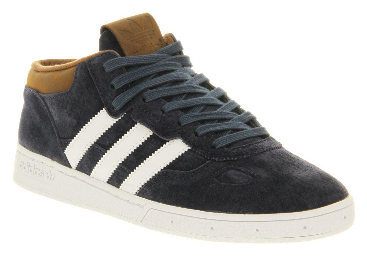 super popular 1896e 82069 Adidas Ciero Mid Navy Brown Suede Exclusive - His trainers