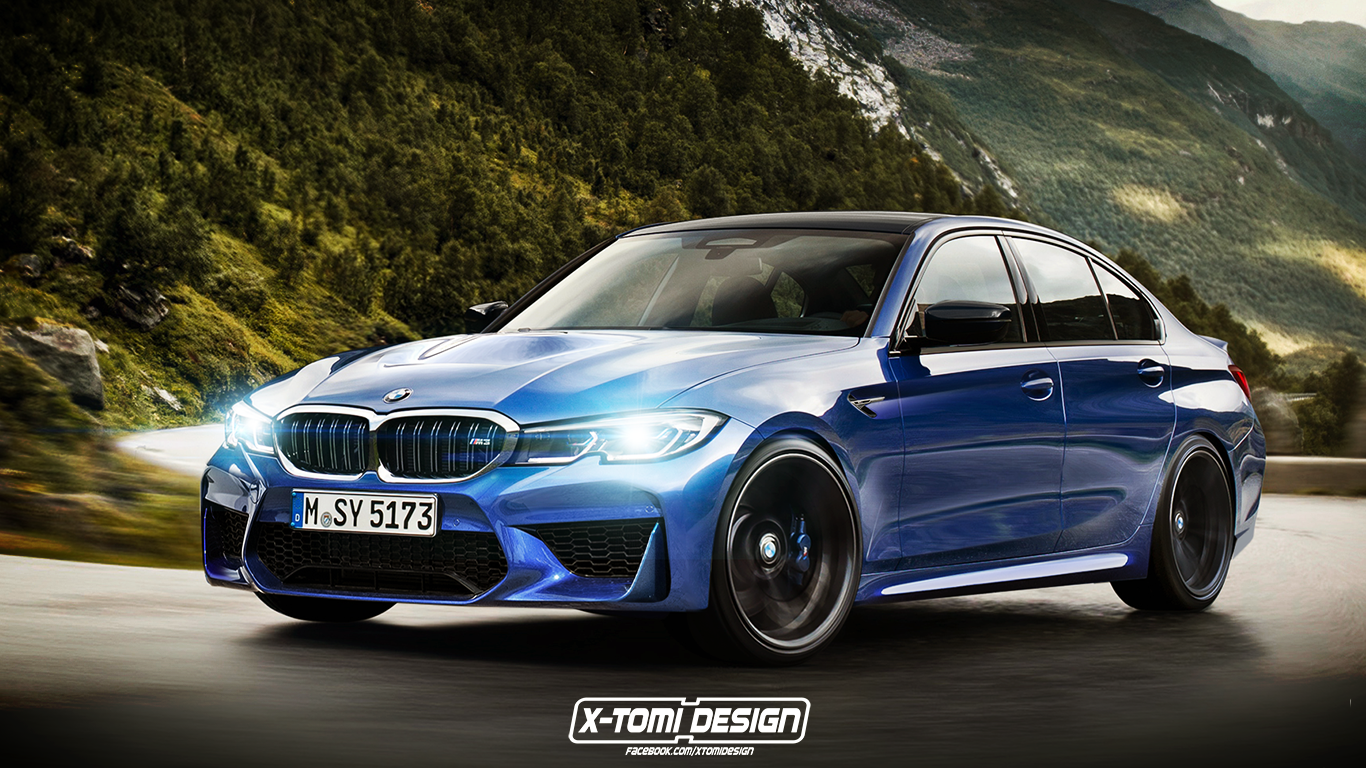 2020 Bmw M3 G80 Rendered What We Know So Far Bmw Bmw M3 New Bmw M3