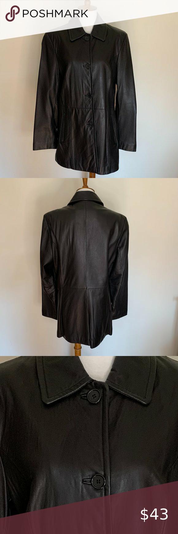 Liz Claiborne Leather Jacket Distressed Leather Jacket North Face Jacket Womens Liz Claiborne