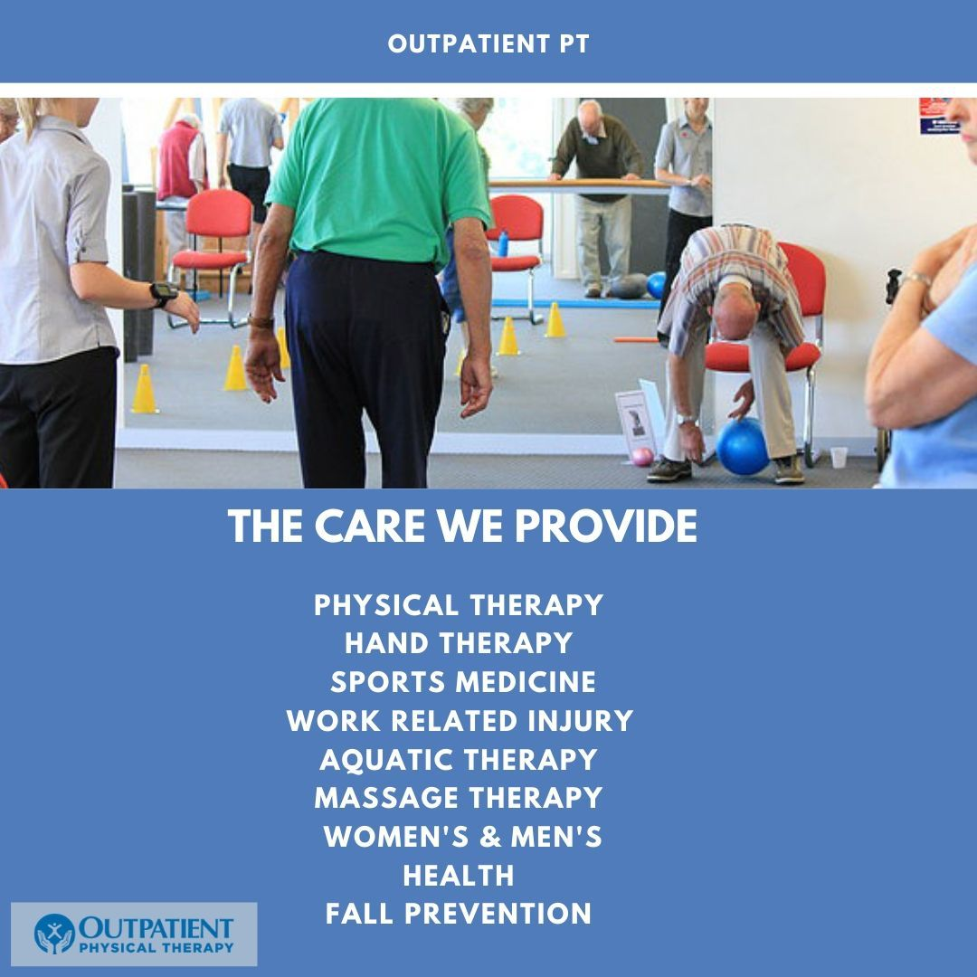 Outpatient Pt Physical Therapy Aquatic Therapy Sports Therapy