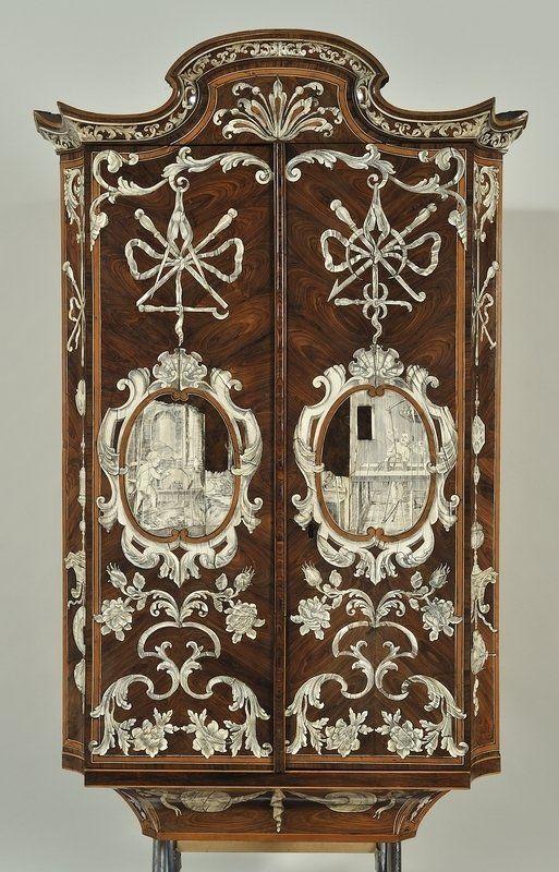 Pietro piffetti 1701 1777 cabinet museo di arti for Mobili antichi francesi