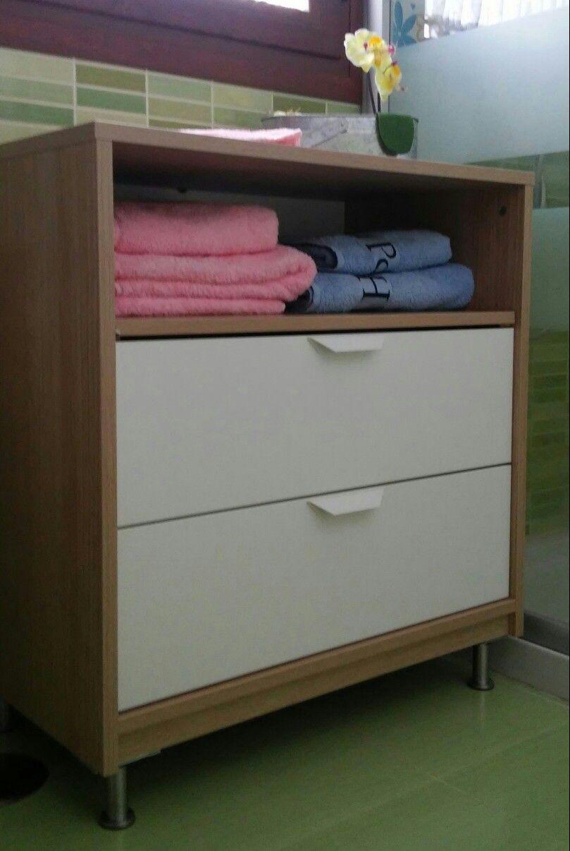 Convierte La Comoda Askvoll De Ikea En Un Mueble De Bano Home Goods Decor Askvoll Ikea Ikea Inspiration