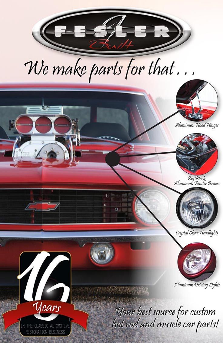Need Hand Made Parts for your Muscle Car? Check out the amazing ...