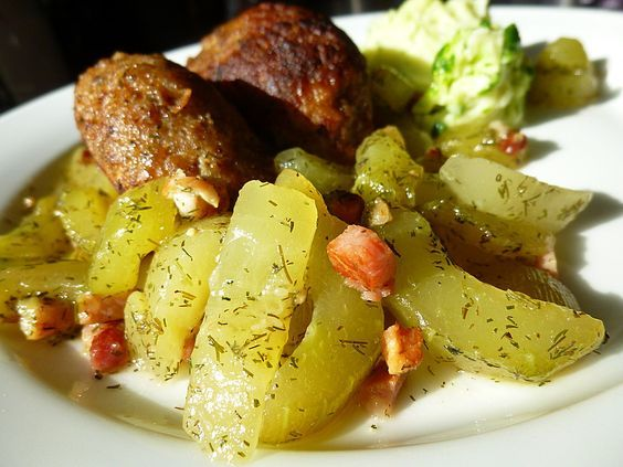 Photo of Braised cucumbers by mimamutti | chef