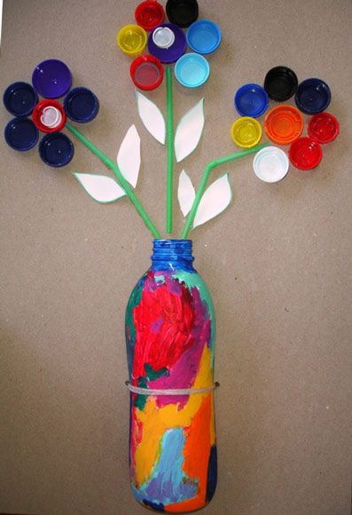 Fed up of waste materials it s time to recycle them for Art from waste ideas for kids