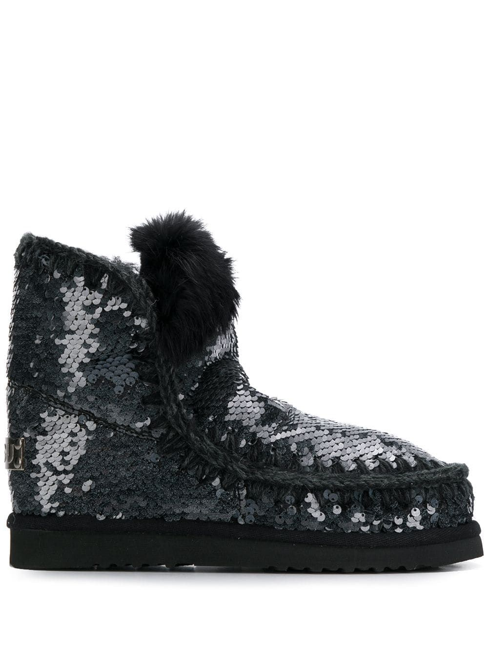 Mou sequin embellished Eskimo boots Blue in 2019 | Boots