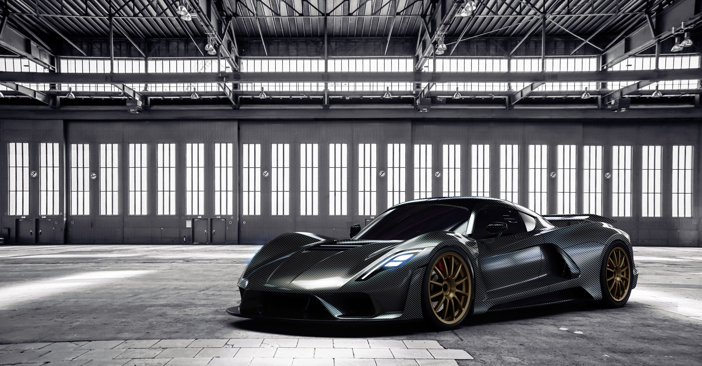 Hennessey Venom F5 Carbon Fiber Body Www Venomf5 Com Hennessey Rear View Rear View Mirror
