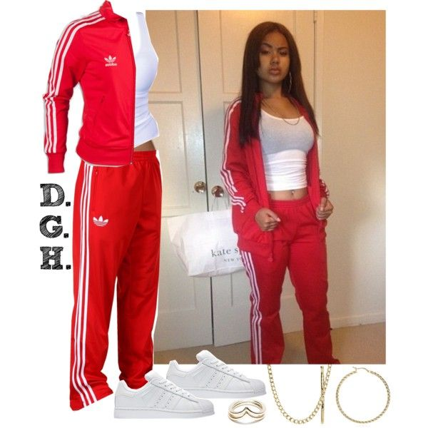 Red Adidas. | Pinterest | Adidas Create And Polyvore