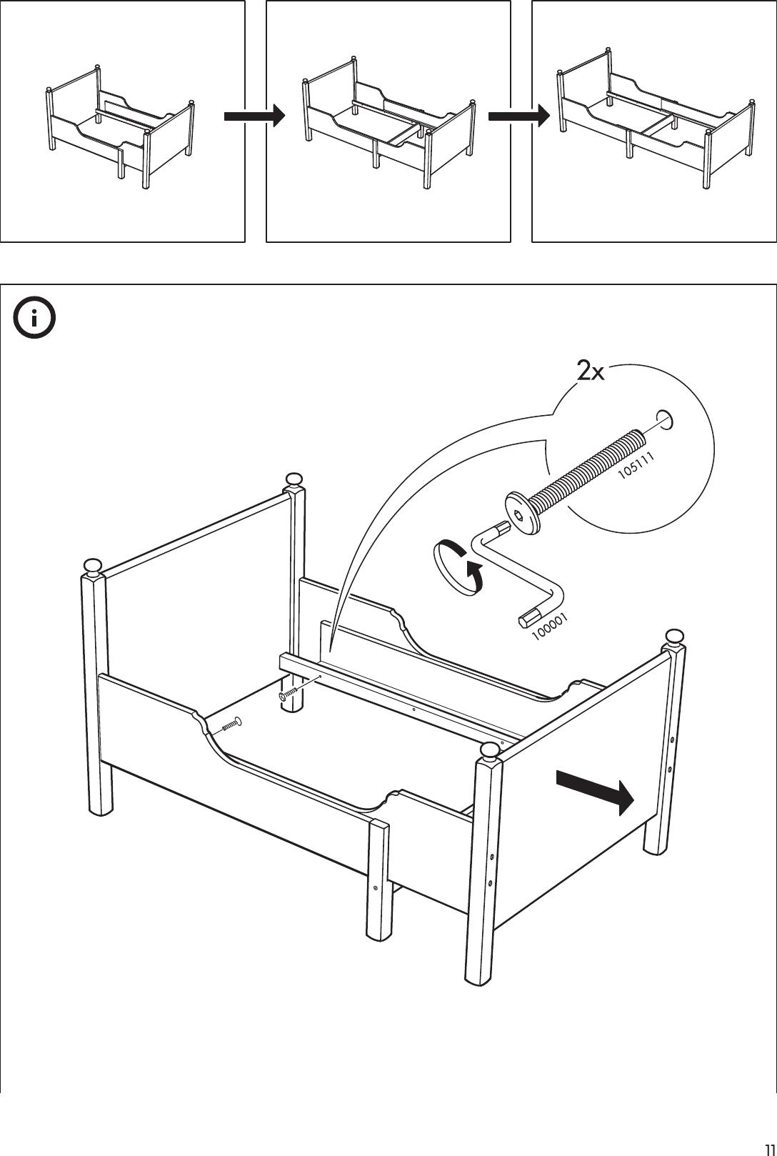 Pin By Bnabli On Chambre Enfant In 2020 Ikea Leksvik Leksvik Bed Frame