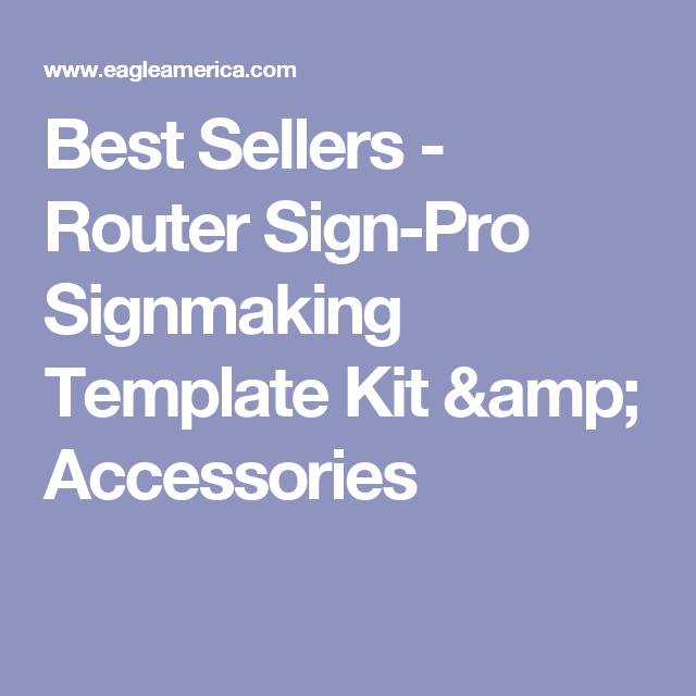 best sellers router sign pro signmaking template kit accessories