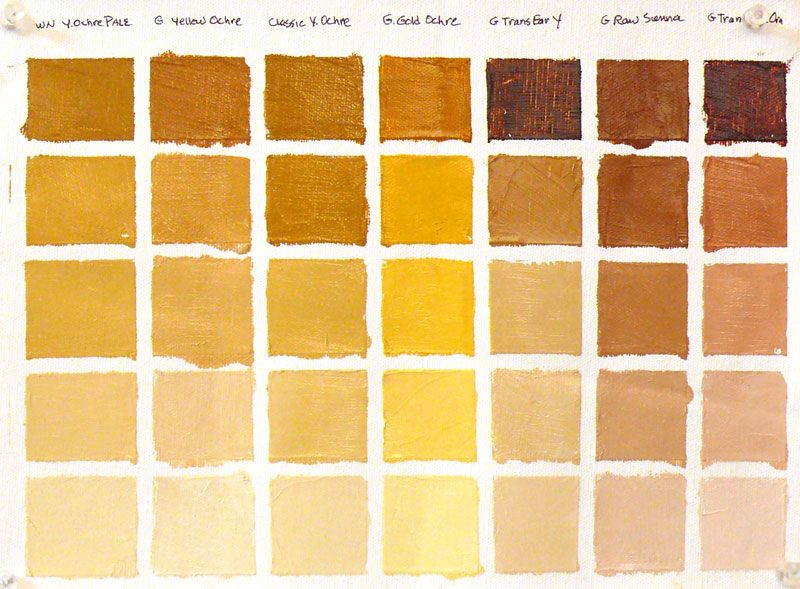 Quotes Yellow Ochre: Back To Basics – Color Vocabulary