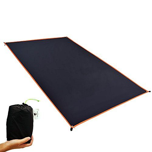 Tent Footprint 4 Person Ultralight Ground Sheet Mat for Hiking Backpacking