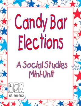 Social Studies- (link to a $4 TPT unit- but cute idea) teach students about the election process with candy bars