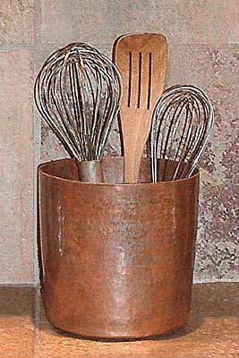Copper Utensil Holder View More Great Looking Utensils