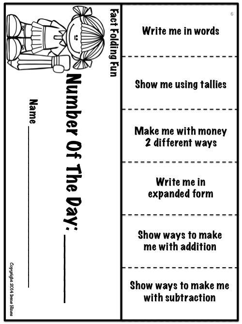 Foldables ~ Fact Folding Fun! Math Flip-Flap Books And