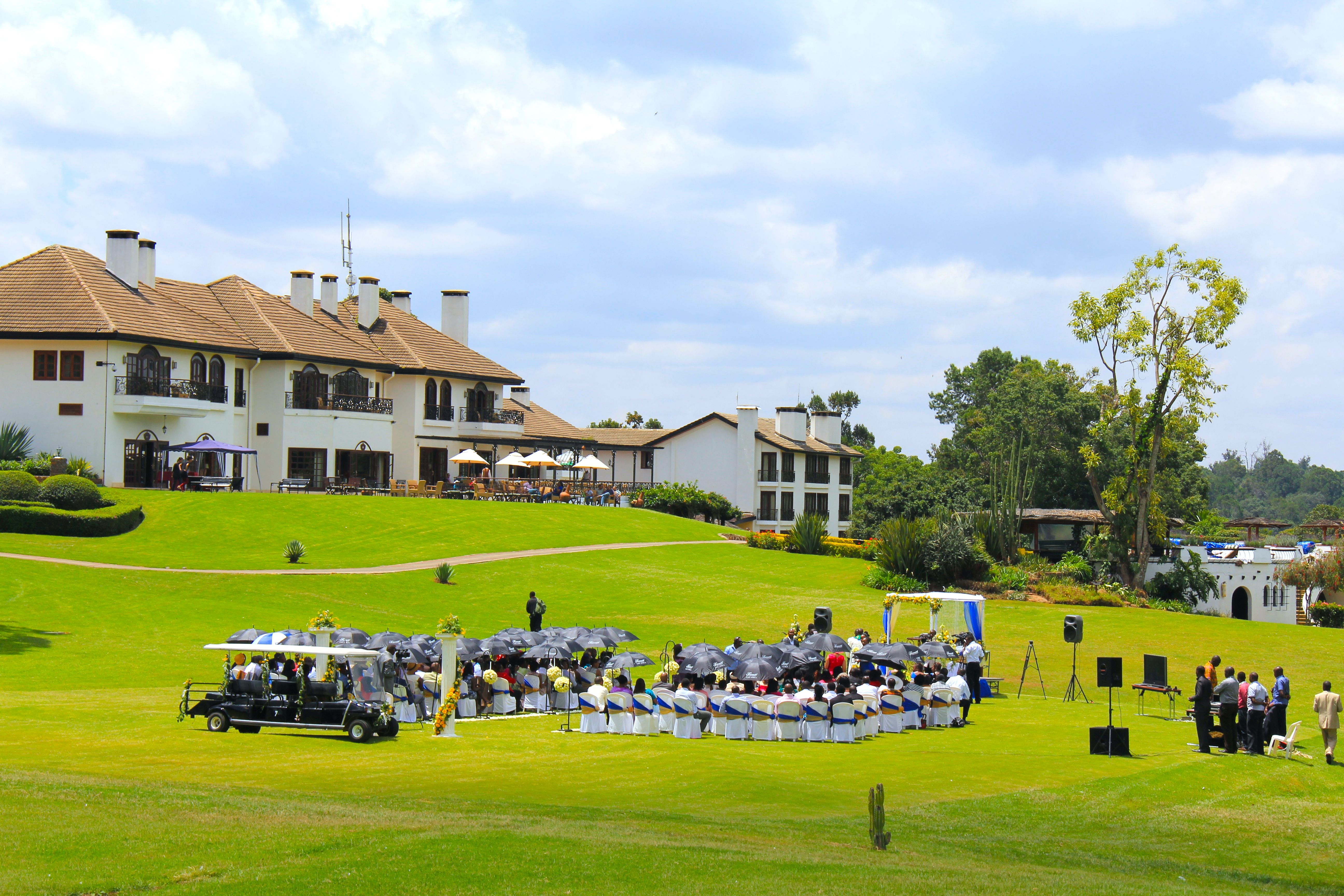 Wedding In The Grounds Of Fairmont Mt Kenya Safari Club With