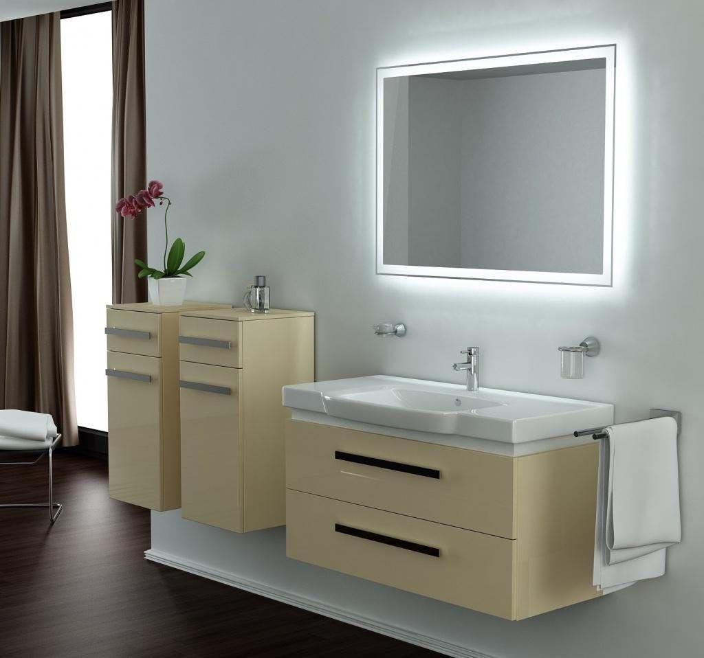Bathroom Vanity Mirror And Light Ideas charming led lights for vanity mirror gallery - best idea home