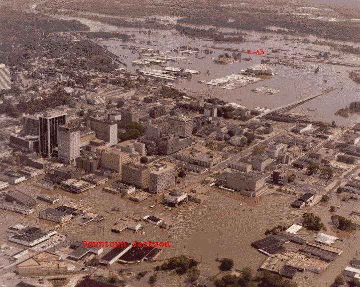 Jackson Easter Flood Mississippi Mississippi Jackson Louisiana