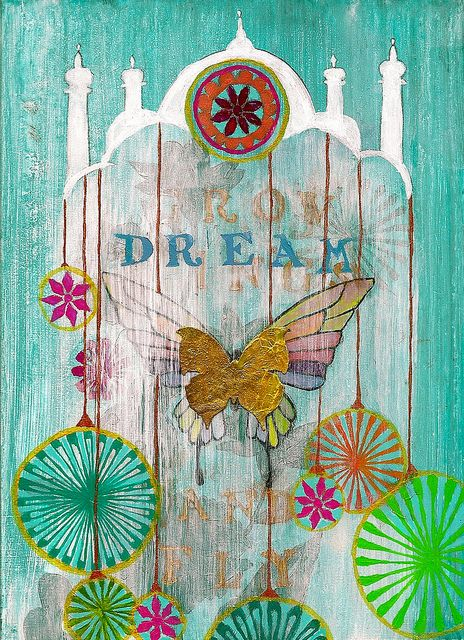 Time spent dreaming is never wasted—after all, we need to repaint our soul colors whenever they get faded : )