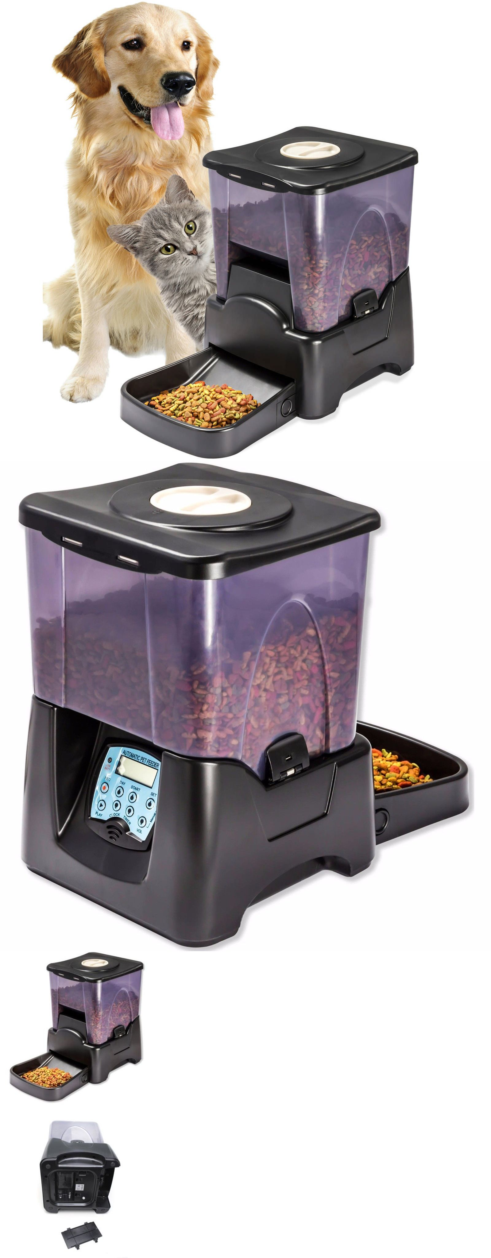 animates pet programmable automatic petware feeder supplies