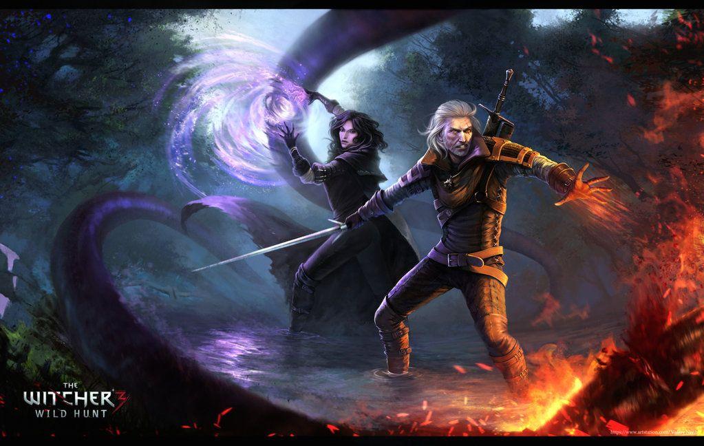The Witcher 3 Fan Art By ValeryNeith.deviantart.com On