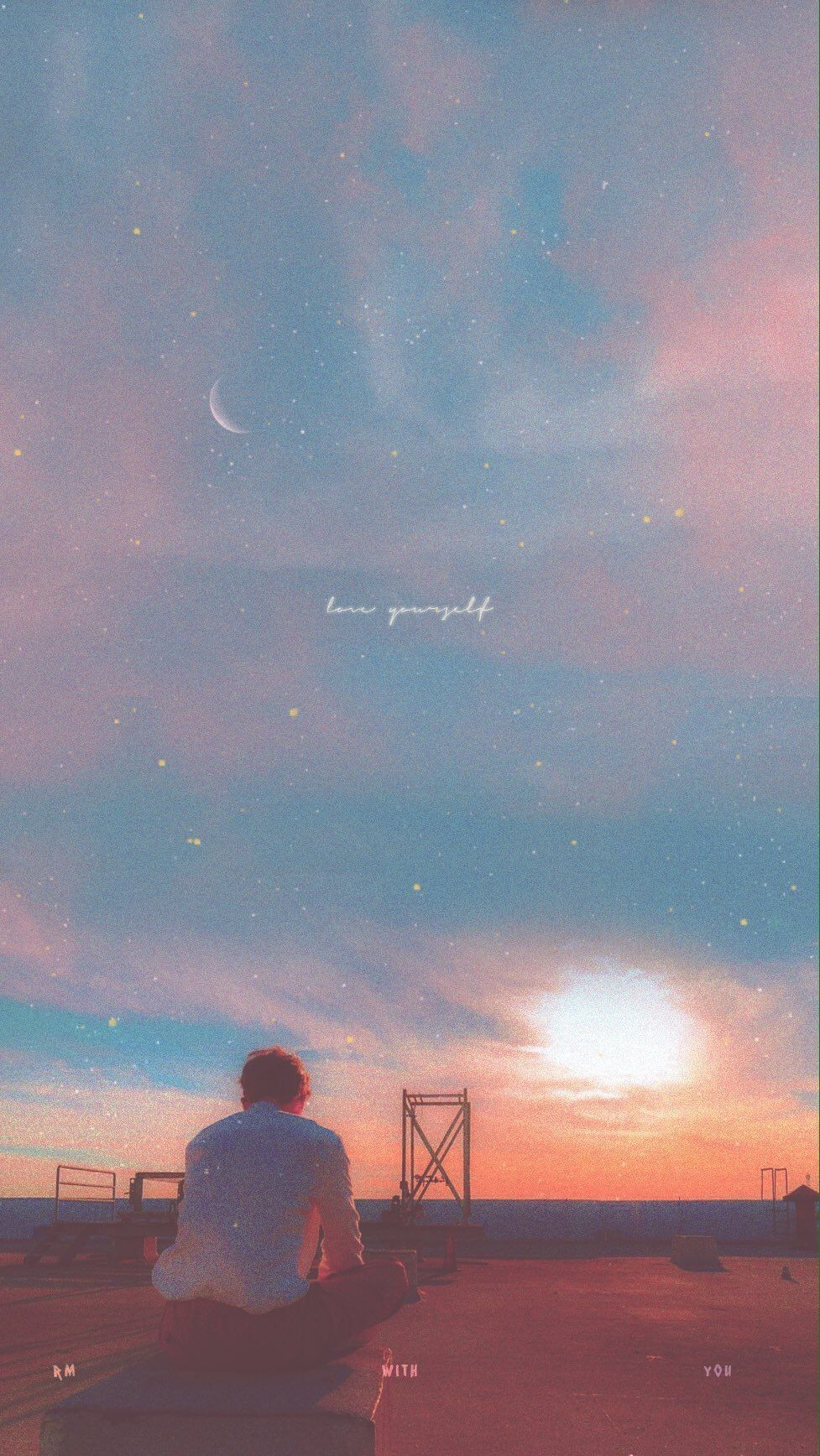 Love Yourself Bts Bts Aesthetic Wallpaper For Phone Bts Wallpaper Aesthetic Wallpapers