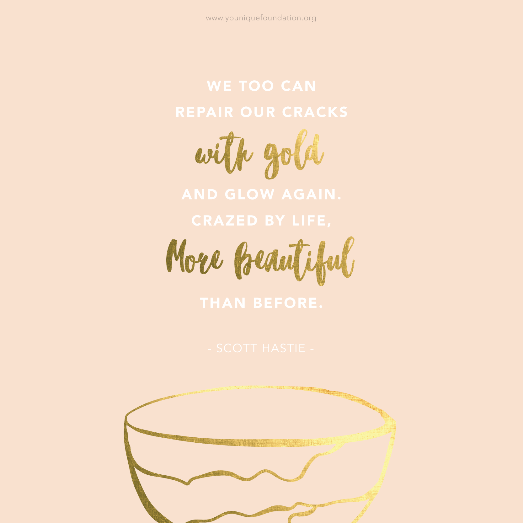 Foundation Quotes Pinthe Younique Foundation On Kintsugi  Pinterest  Inspirational