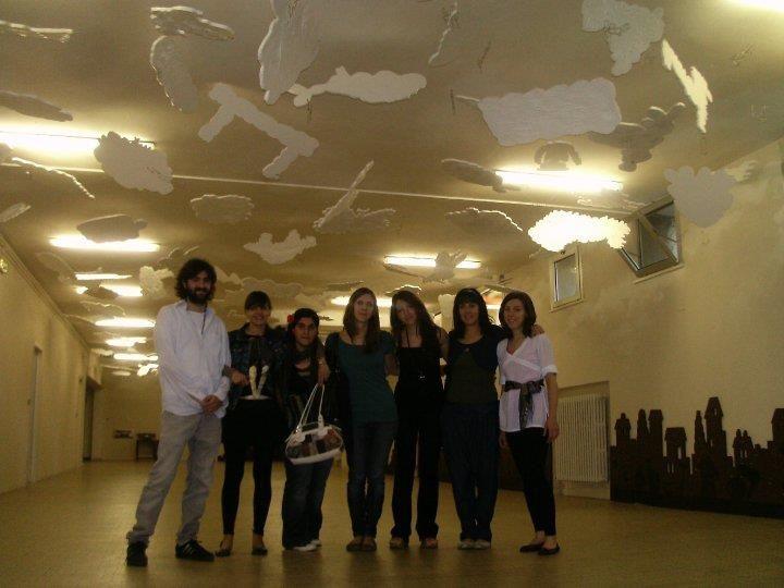 2009 2010 scuola di largo bacelli  SOQQUADRO trasformazione dello spazio scolastico in un museo virtuale in collaborazione con Accademia Belle Arti di Urbino