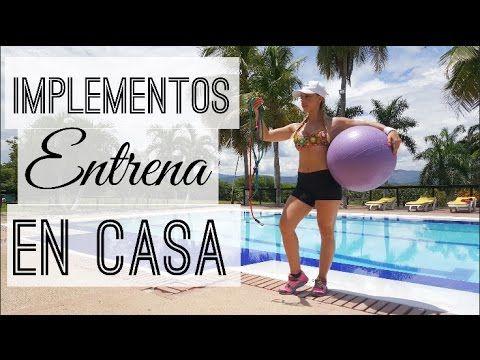 RUTINA CON BANDAS ELASTICAS EN CASA! | Naty Arcila | - YouTube