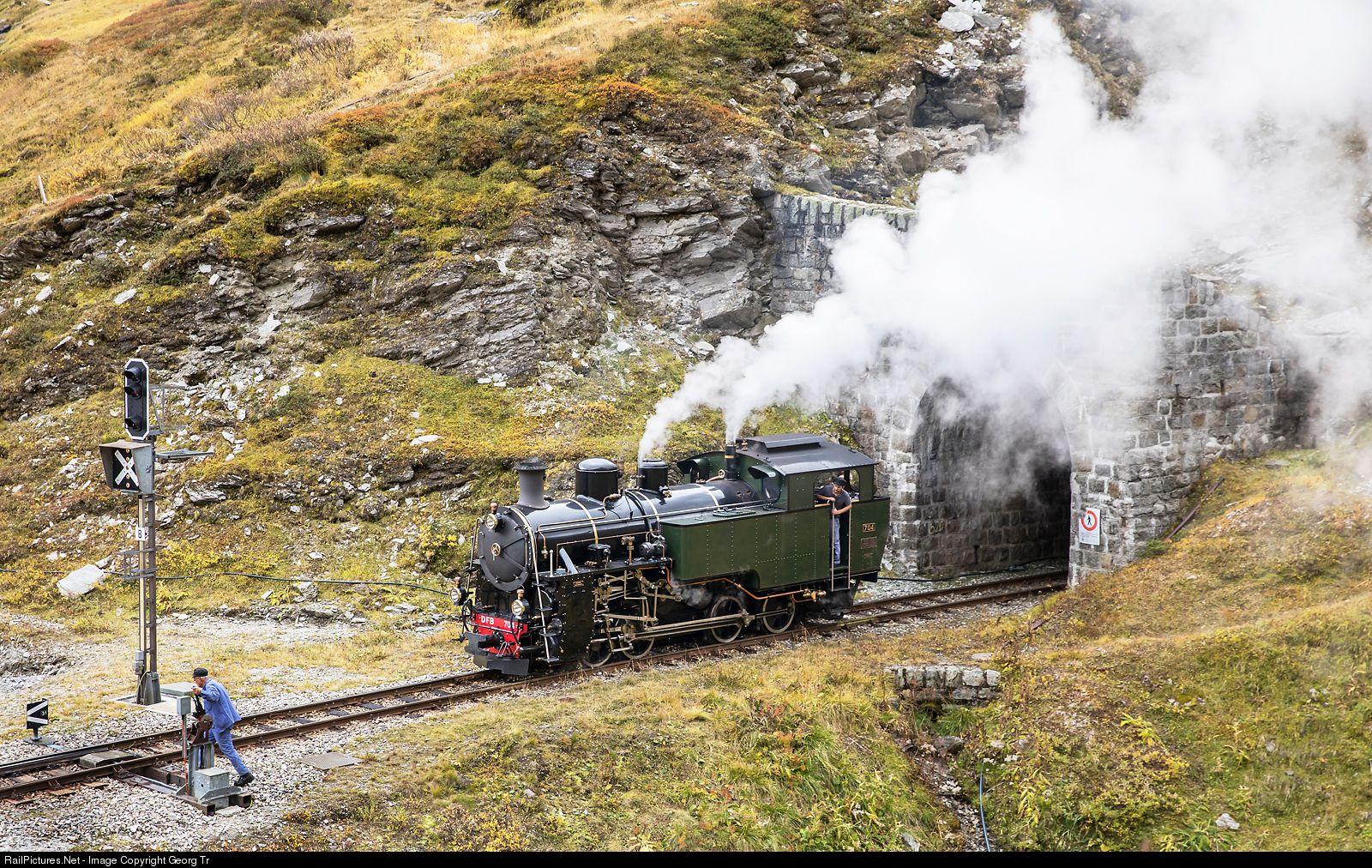 RailPictures.Net Photo: 704 Dampfbahn Furka Bergstrecke HG ...