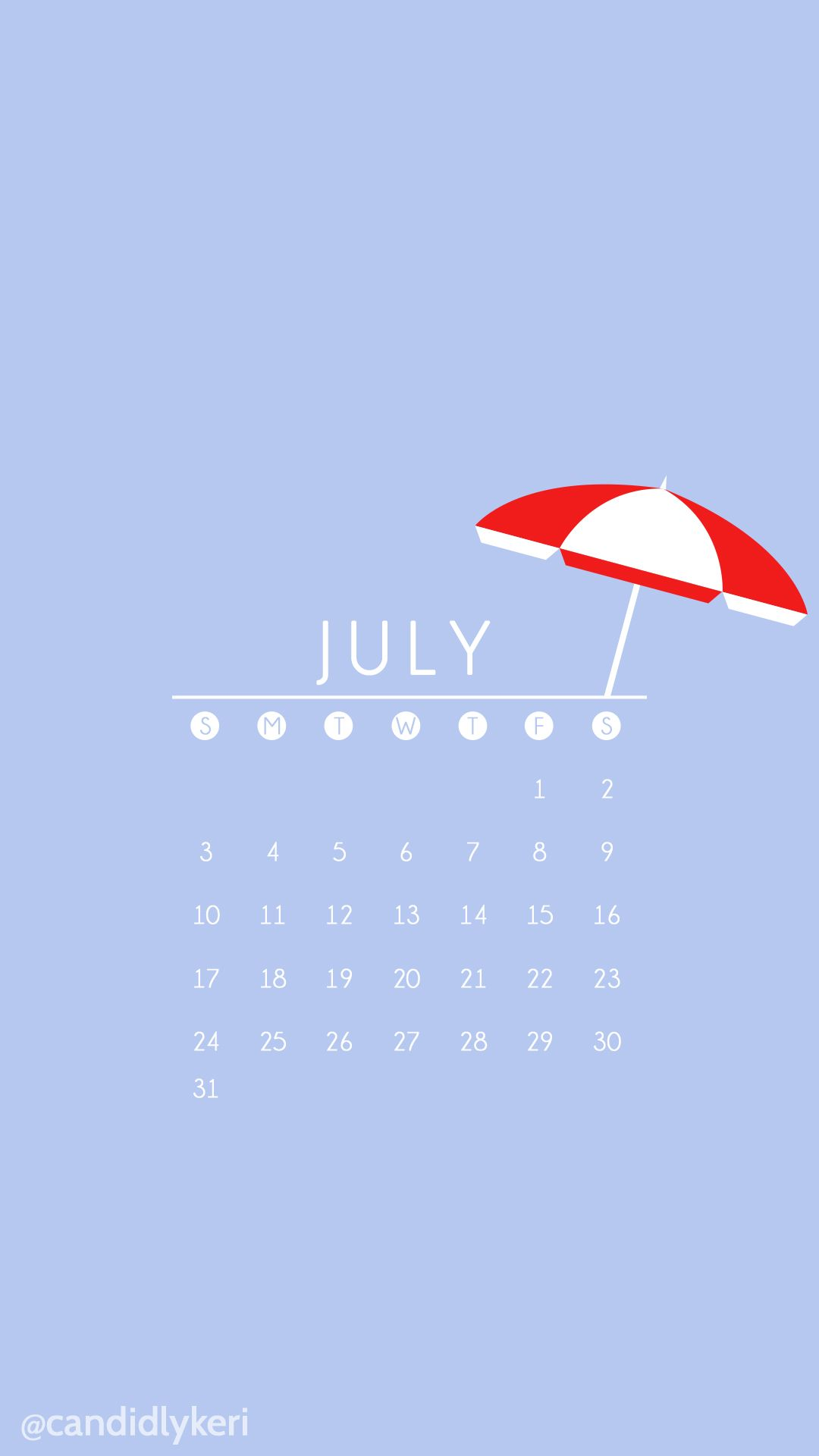 Blue background red umbrella cute summer july 2016 calendar blue background red umbrella cute summer july 2016 calendar wallpaper free download for iphone android or desktop background on the blog pinterest voltagebd Gallery