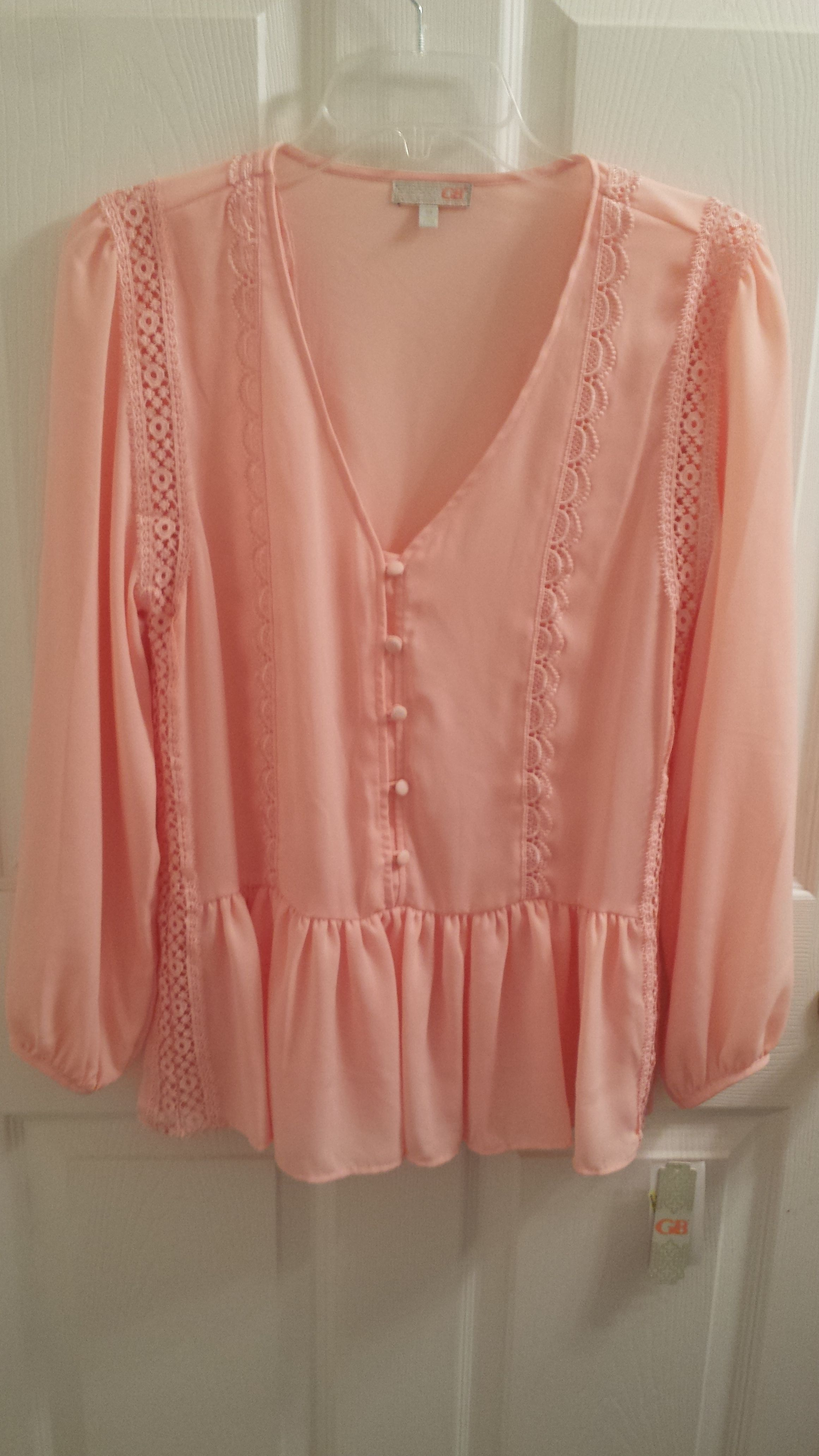 d2d0eaae2a0e2 Gianni Bini Peach Top. Get the lowest price in town on this fabulous Gianni  Bini top in Peach and other colors too! Tradesy makes designer fashion ...