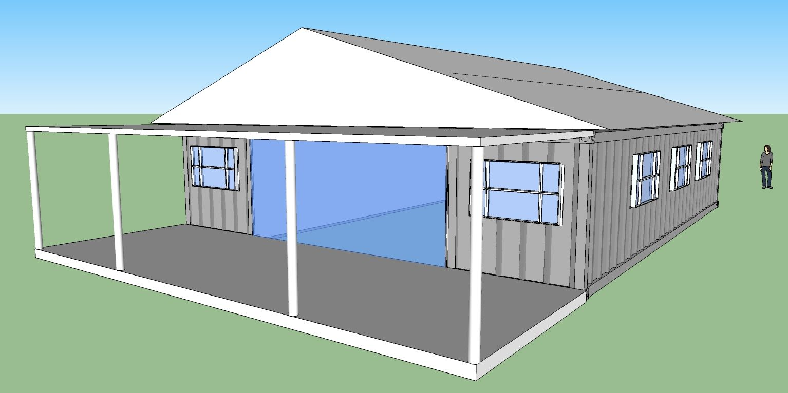 muti-modular - addis shipping container house design - new zealand