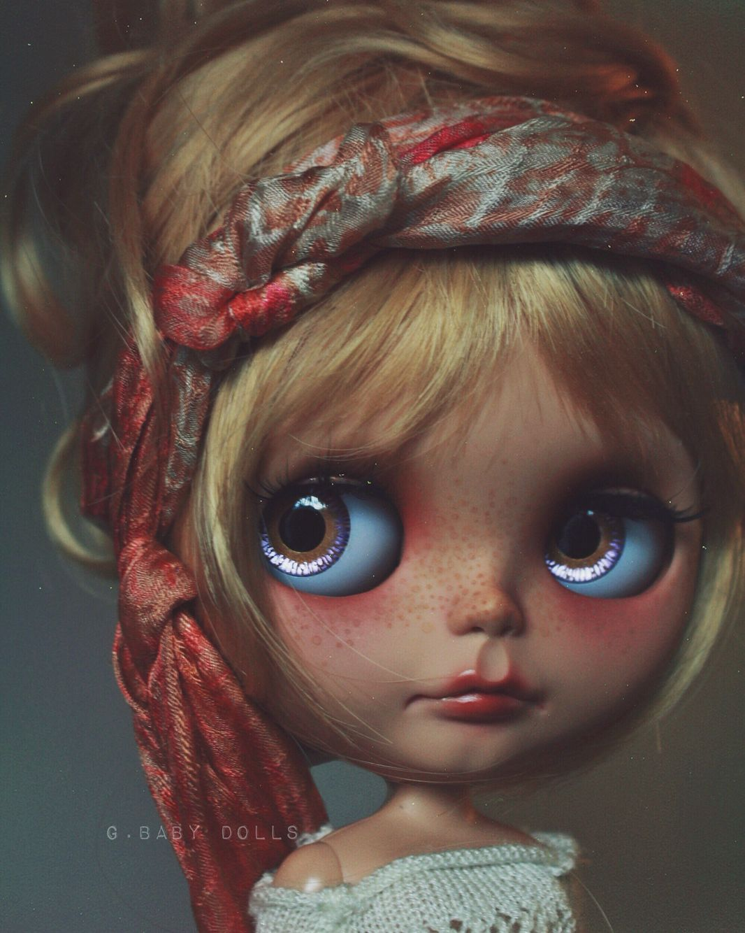 Hairstyle Updo Vintage Blonde Bangs Kawaii Makeup Mua Fashion Style Kawaii Makeup Cute Beauty Blythe Dolls