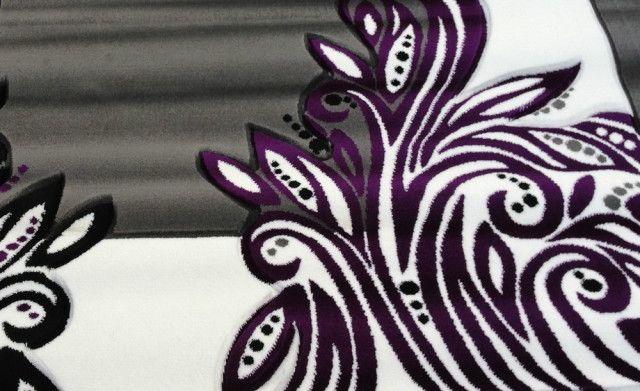 Wonderful Purple Gray And Black Rugs
