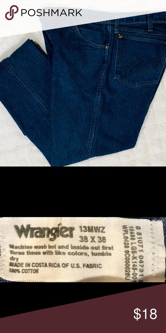 49fb7f3a ⚠ 🆒🆕LISTING!⚠ Wrangler 13MWZ Cowboy Cut Original Fit Jeans ...