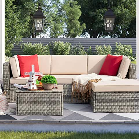 Amazon.com: patio furniture sets clearance in 2020   Patio ...