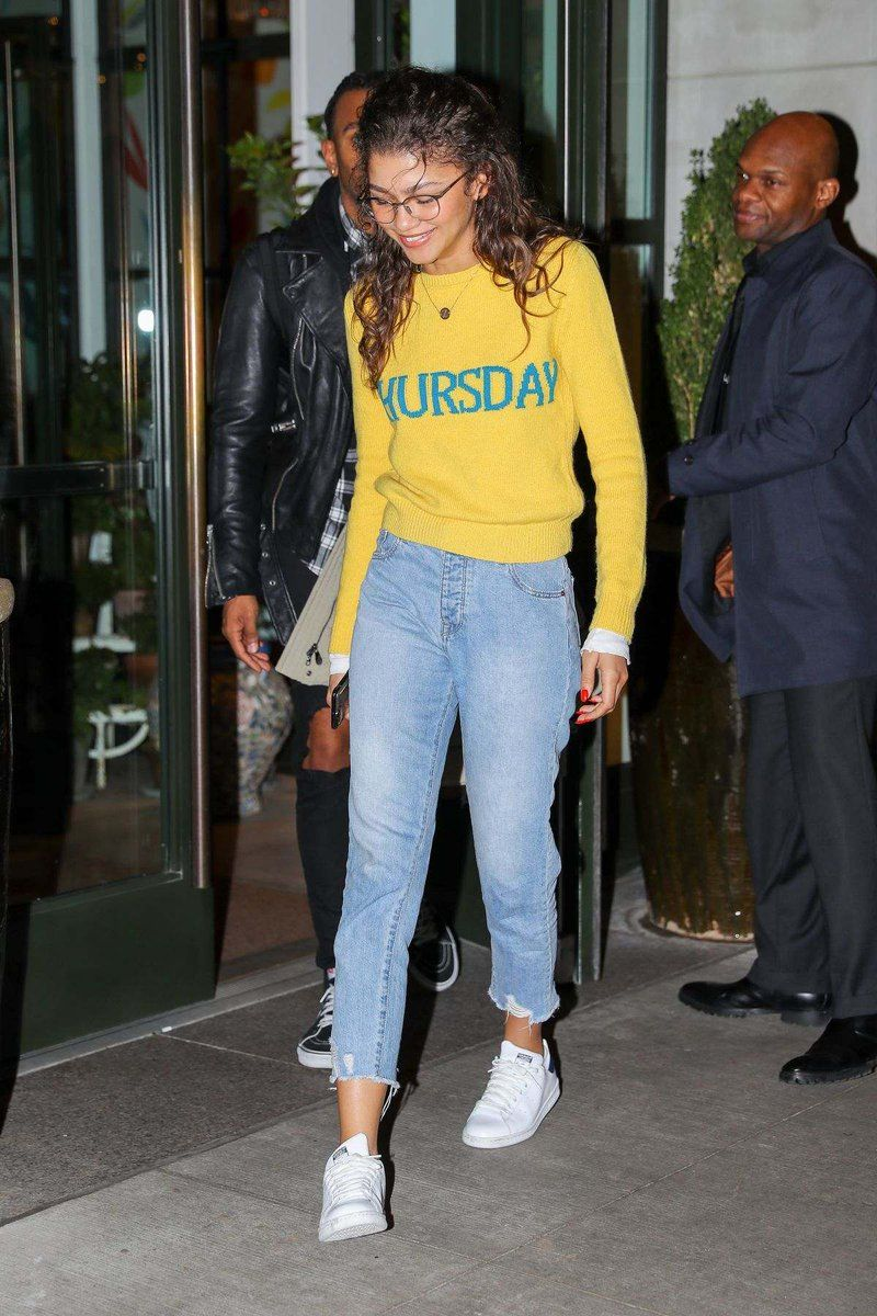 Zendaya coleman street style out in nyc new images