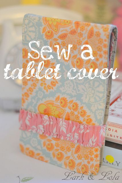 This DIY kindle cover tutorial is loaded with lots of large