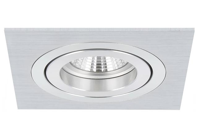 Inbouwspot Torino Aluminium Vierkant Kantelbaar Fitting Led Lamp Led