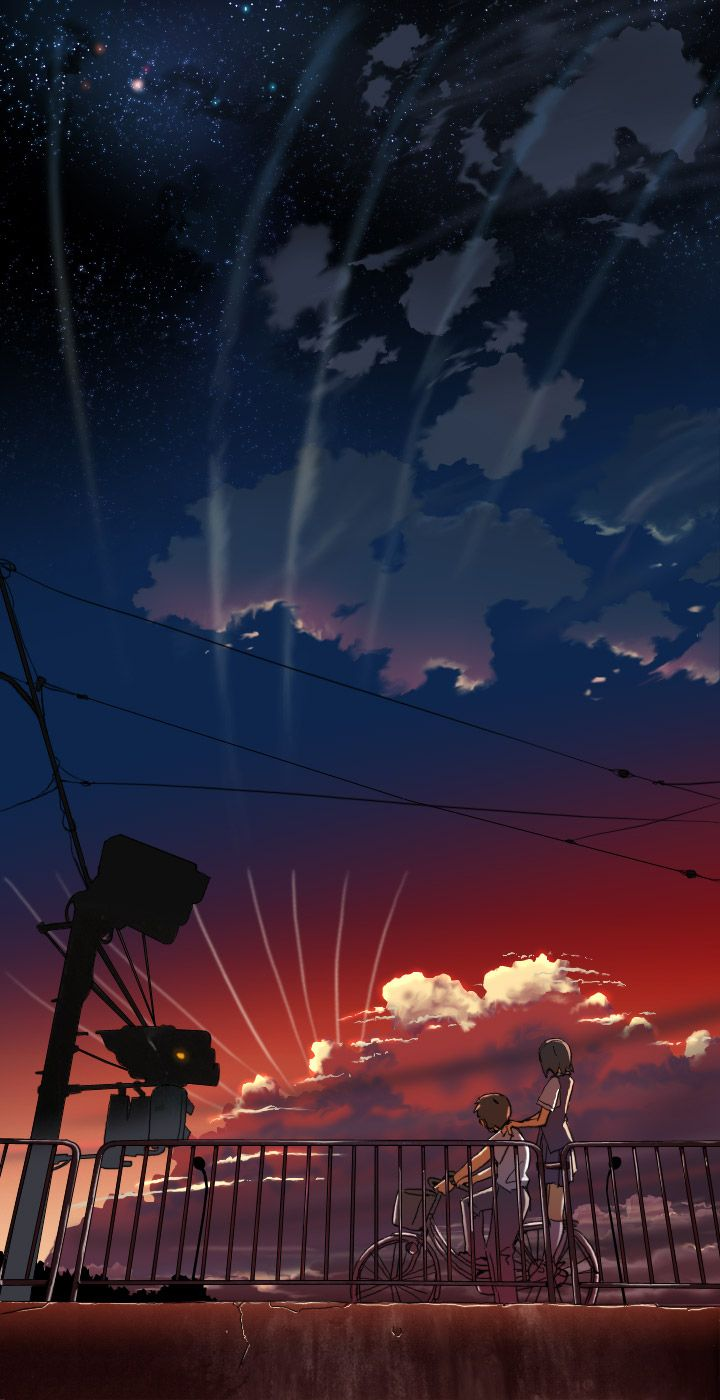 """I *think* this is from Makoto Shinkai's """"Voices from a"""
