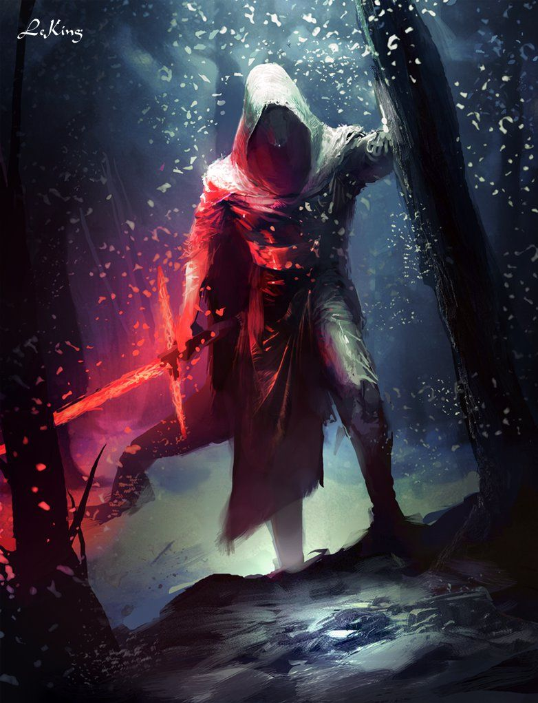 Kylo Ren by Le King