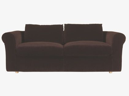Louis Purples Velvet Purple 3 Seat Sofa Sofas Habitatuk I Have Been In Love With This For Years Proper Sink Cushions Gorgeous