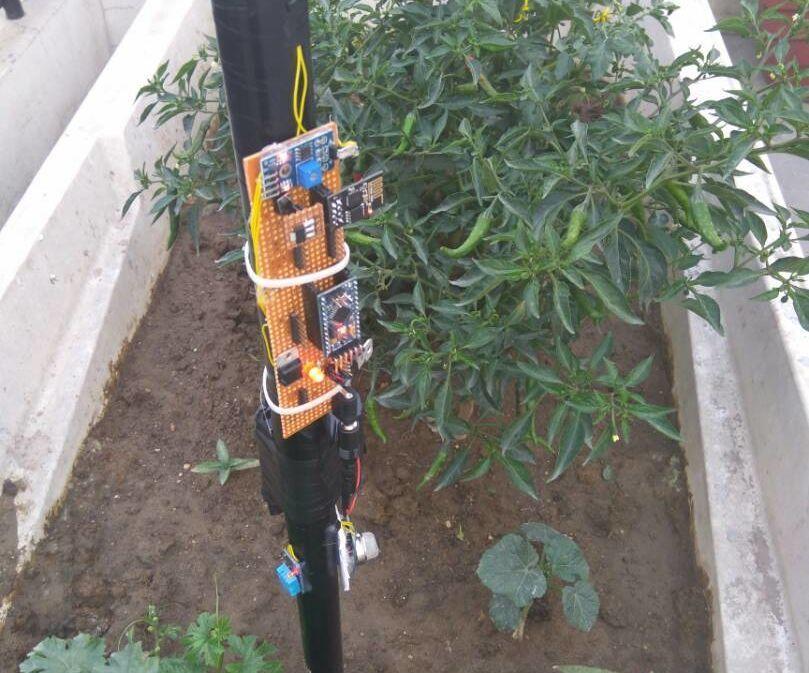 IoT Based Smart Farming Stick Using Arduino and Cloud Computing