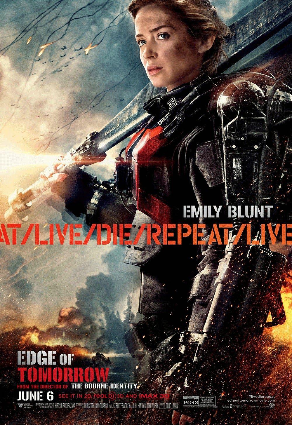 Pin De Aixandria En Emily Blunt Peliculas De Accion Poster De Cine Cine