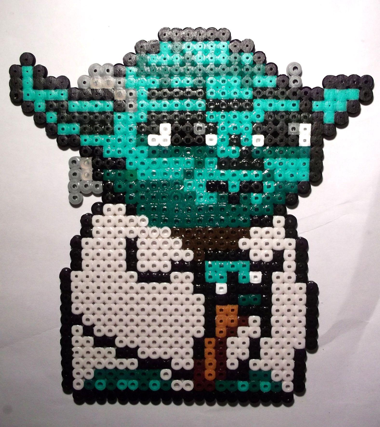 Yoda Star Wars Hama Beads By Lywen64 On Deviantart Perler Star