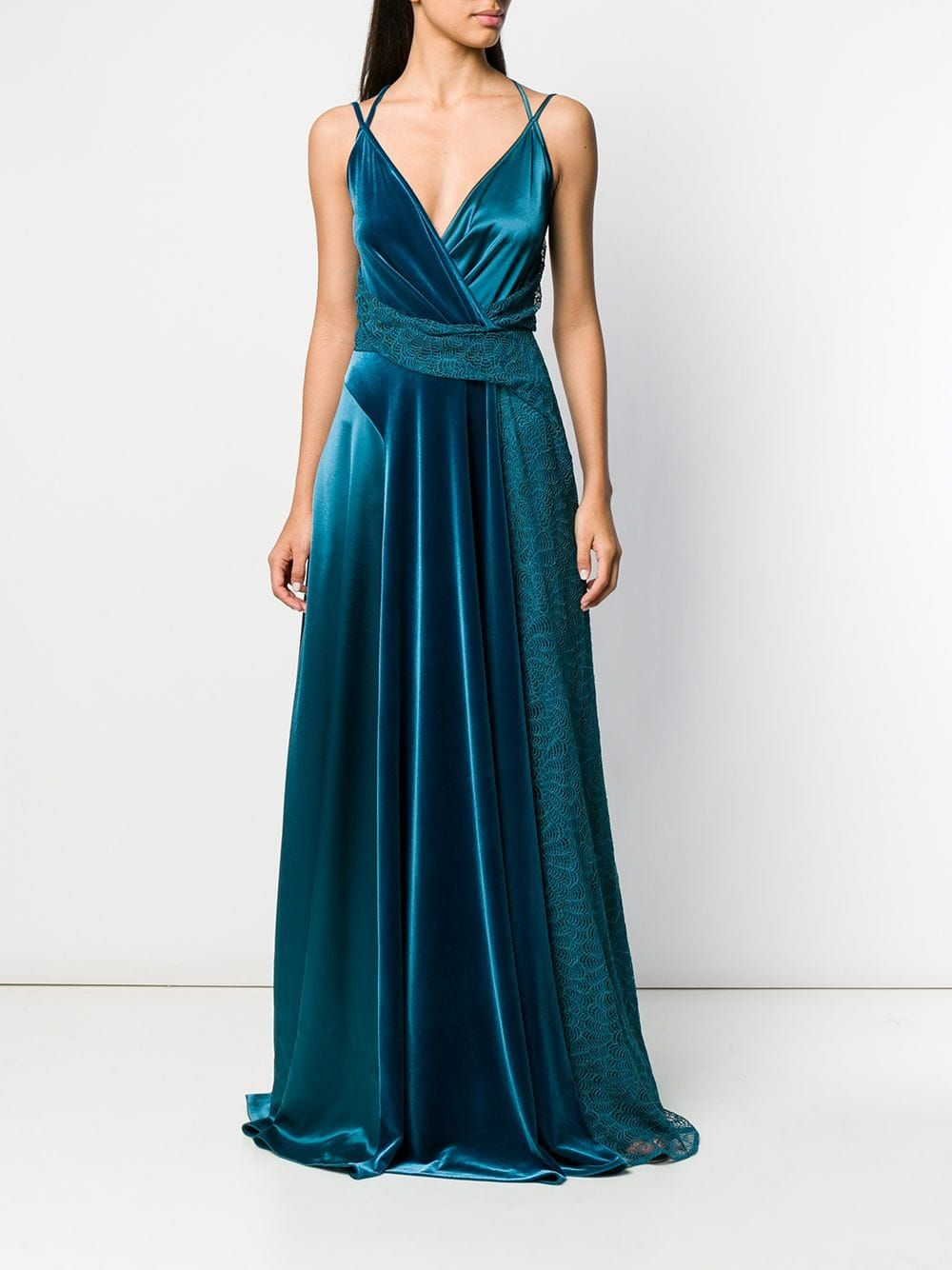 Talbot Runhof Solberg Dress Farfetch Dresses Ball Dresses Yule Ball Dresses [ 1334 x 1000 Pixel ]